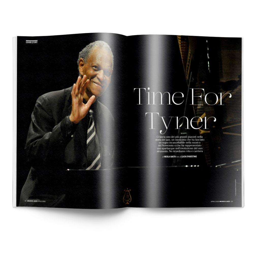 Musica Jazz aprile 2020 pagina doppia McCoy Tyner