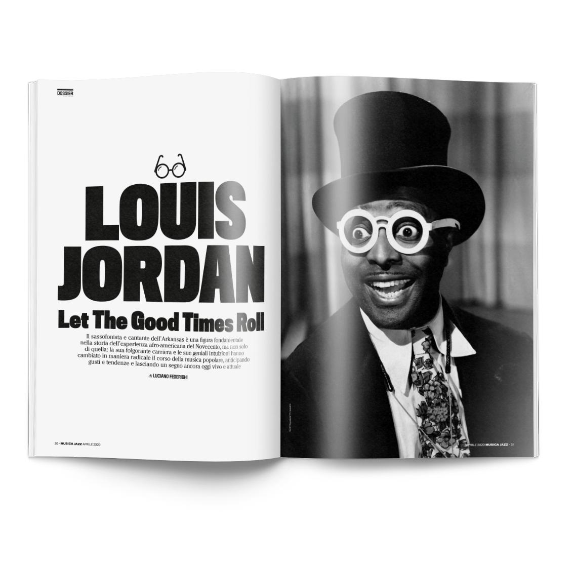 doppia su Louis Jordan MJ042020 Musica Jazz di aprile 2020