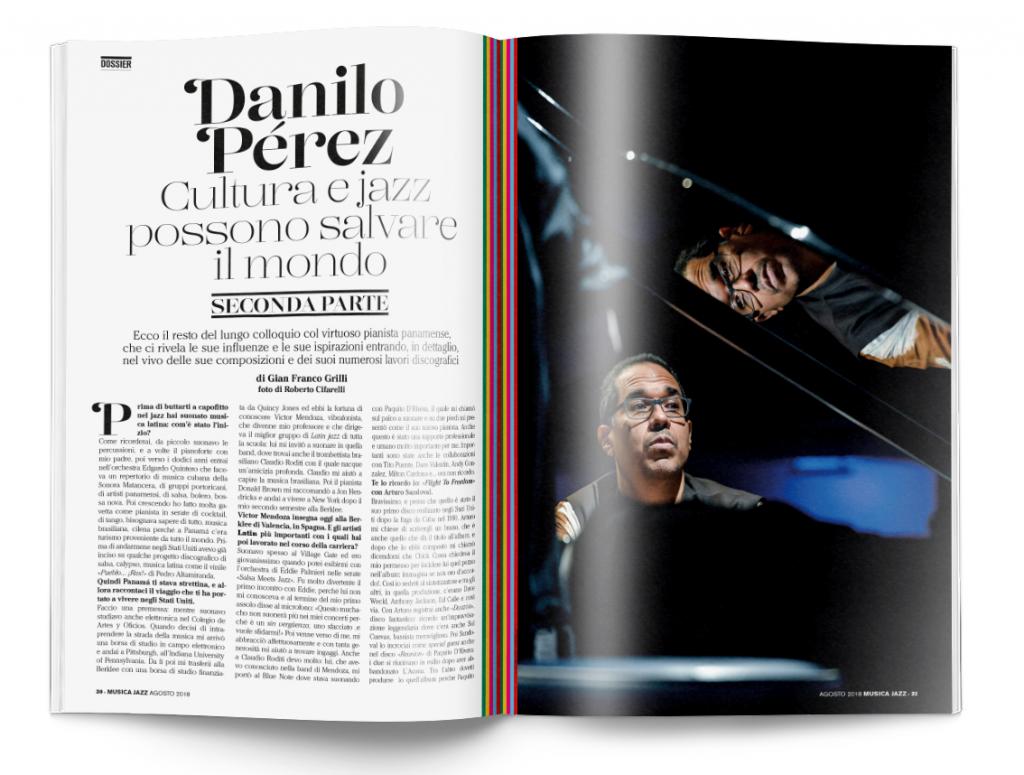 danilo perez - musica jazz agosto 2018