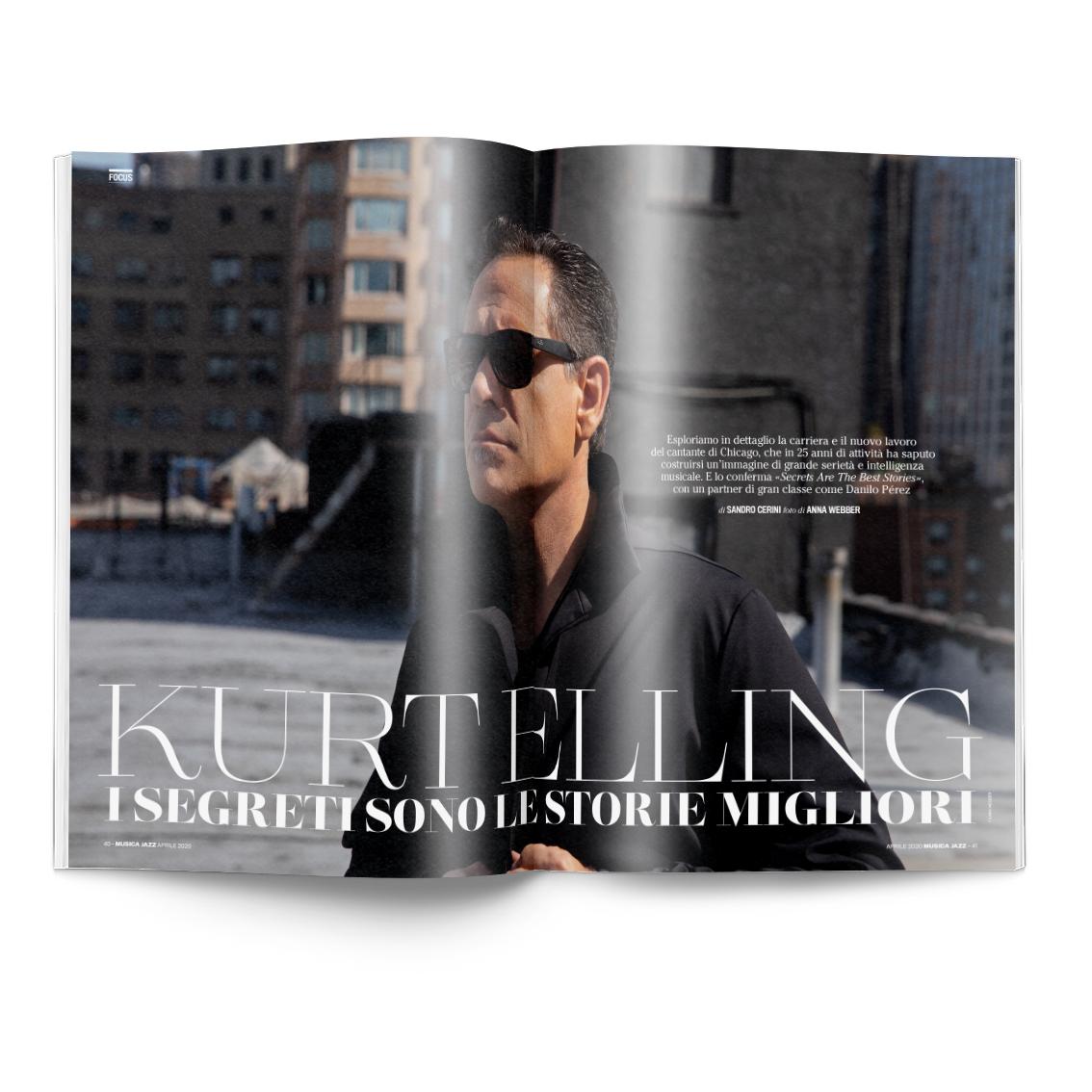 Doppia intervista a Kurt Elling Musica Jazz di aprile 2020