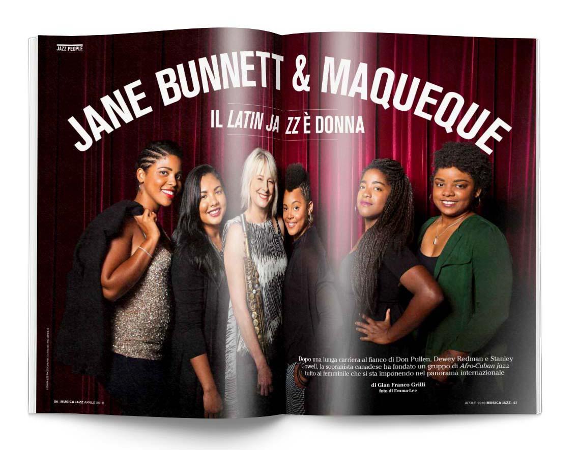 Jane Bunnett & Maqueque