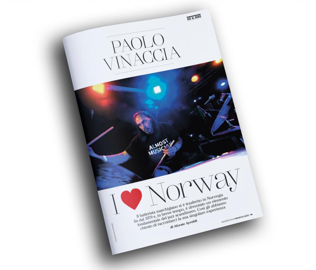 paolo vinaccia - musica jazz agosto 2018