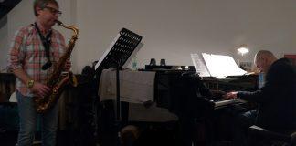 Duo Diego Allieri - Biagio Coppa, 11 marzo 2018, Salotto in prova Milano