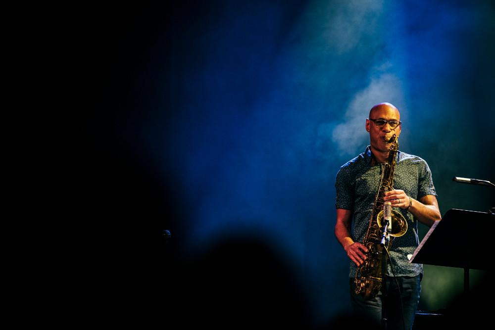 Joshua Redman (foto di Matthias Heschl) - 40. International Jazzfestival Saalfelden