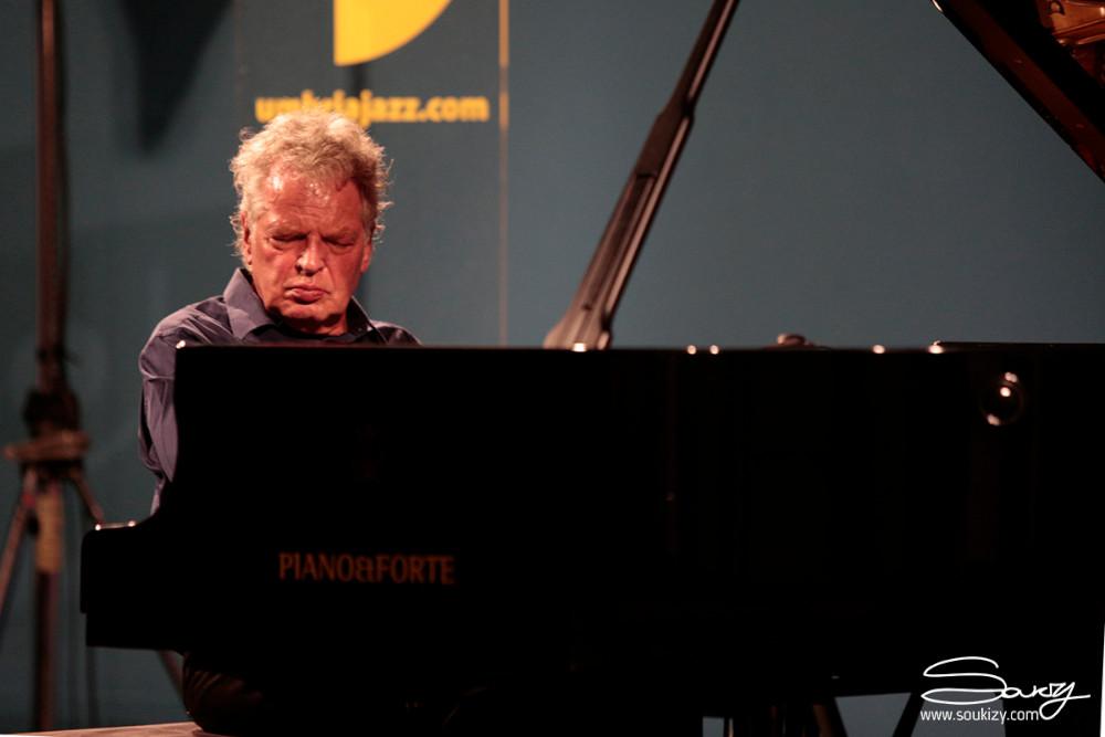 Joachim Kühn (foto di Soukizy) - Diario di Umbria Jazz 2019