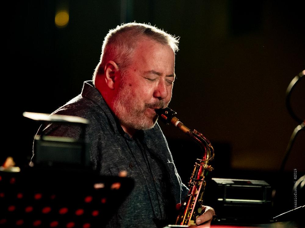 Marty Ehrlich (foto Sanzio Fusconi) - Bobby Previte's Classic Bump Band