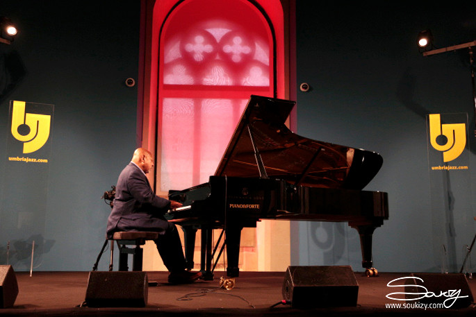 Kenny Barron (foto di Soukizy) - Diario di Umbria Jazz 2019 - 16 luglio