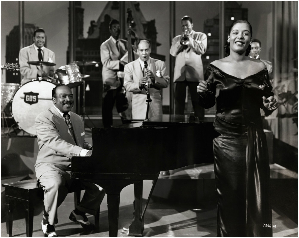 count basie and singer billie holiday