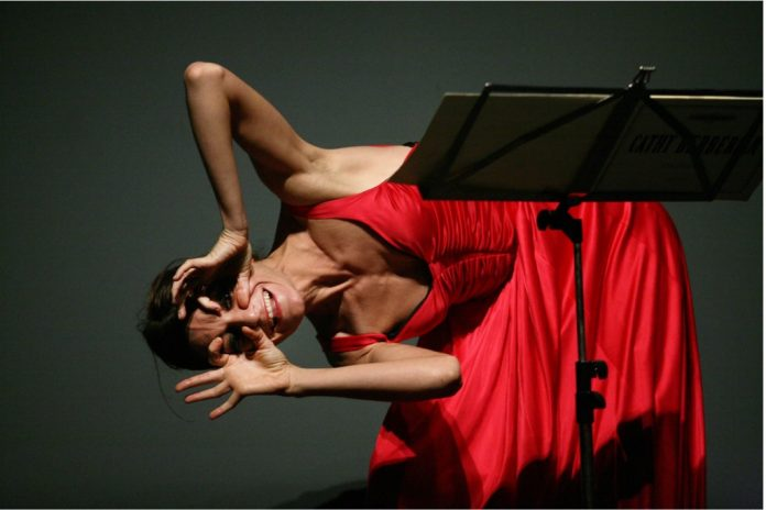 Cristina Zavalloni - foto Luciano Rossetti tratta da Immaginare la musica