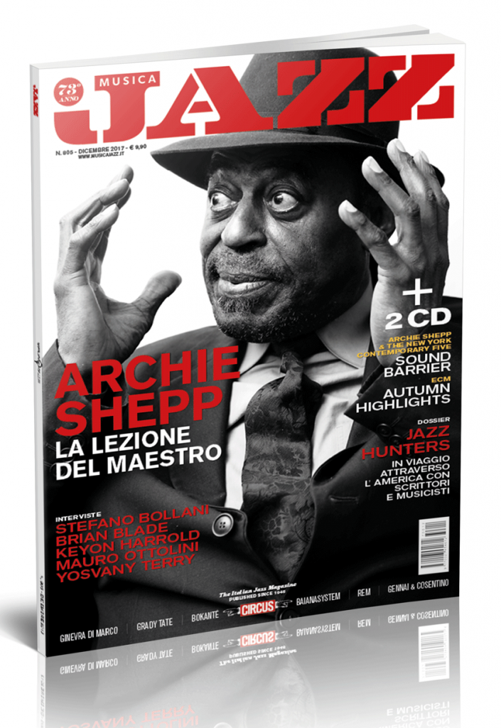 Cover dicembre Archie Shepp