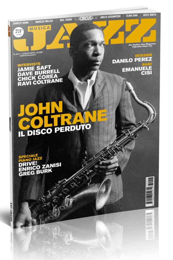 In edicola Musica Jazz di luglio 2018 - Cover John Coltrane