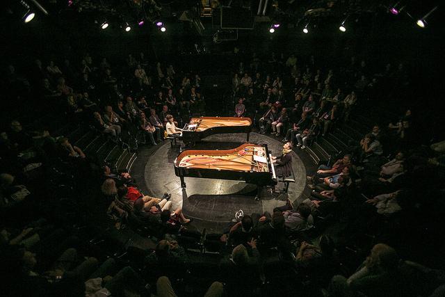 Eve Risser & Kaja Draksler in concerto a European Jazz Conference 2017