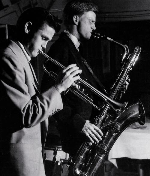 Chet Baker con Gerry Mulligan