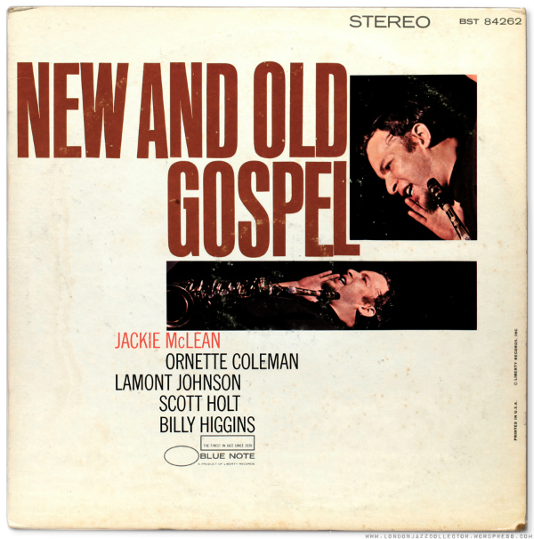 jackie mclean old and new gospel frontcover