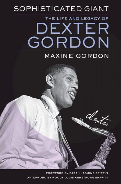 La copertina dell'edizione originale della biografia redatta da Maxine Gordon, moglie di Dexter