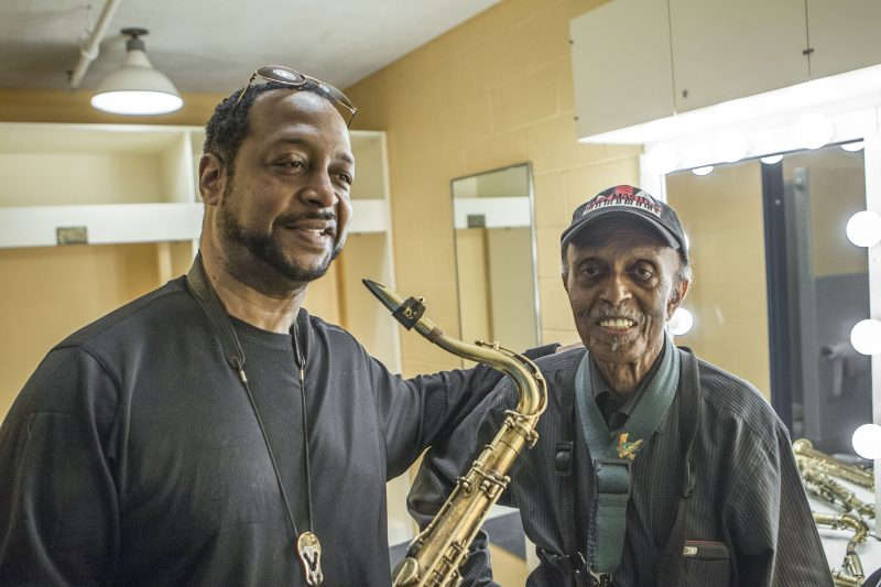 Eric Wyatt con Jimmy Heath