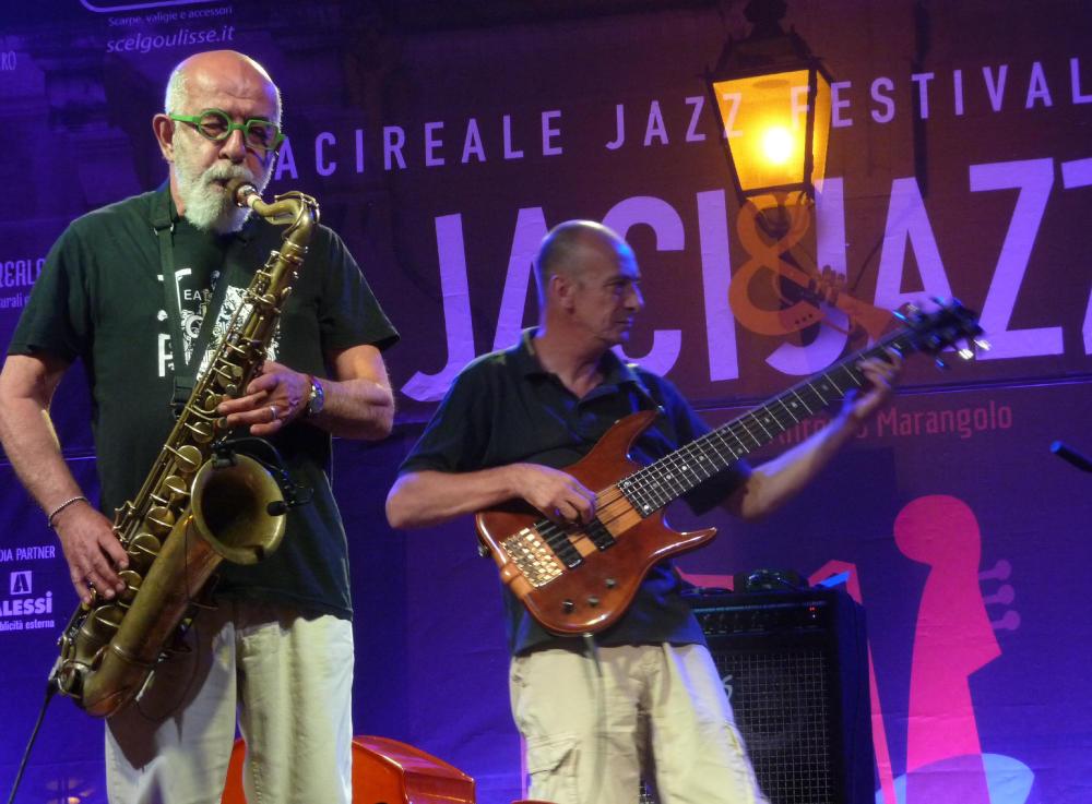 Alberto Marangolo e Aldo Mella (foto di Alberto Bazzurro)