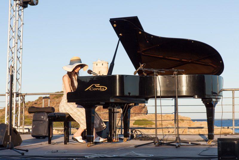 Aziza Mustafa Zadeh a Nora Jazz Festival 2017 - foto Eugenio Schirru