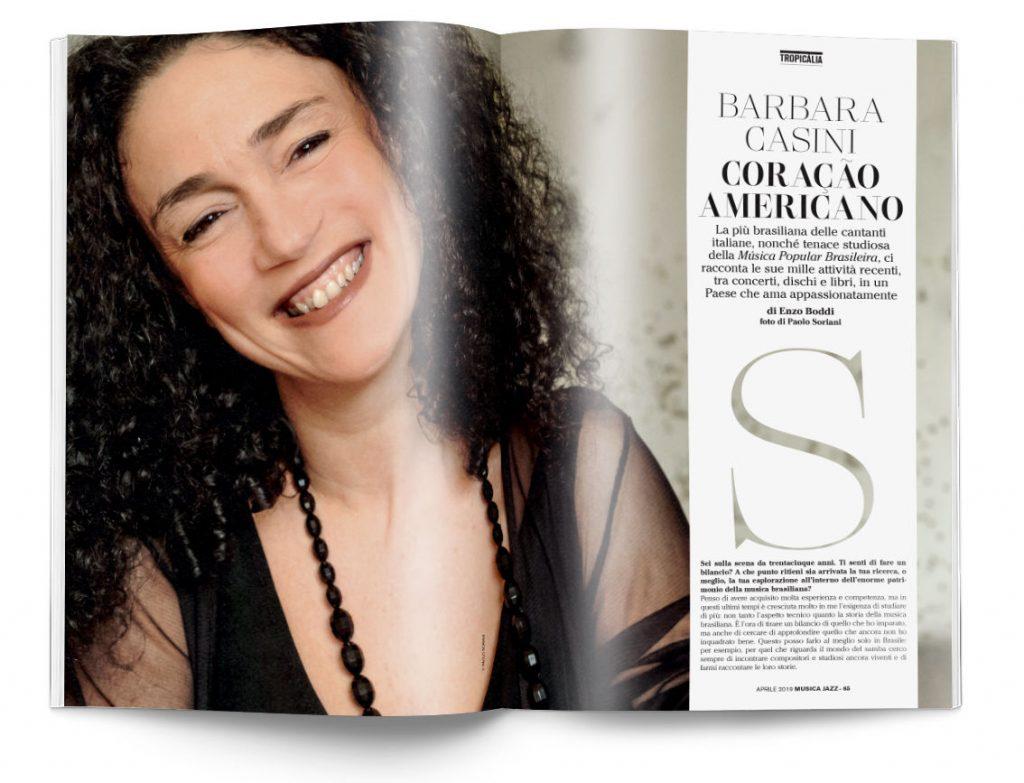 Barbara Casini - Musica Jazz aprile 2019