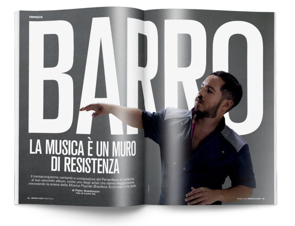 Barro - Musica Jazz aprile 2019
