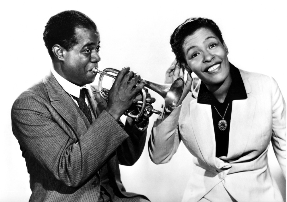 Billie Holiday-Louis Armstrong2©Archives Persson-PHOCUS