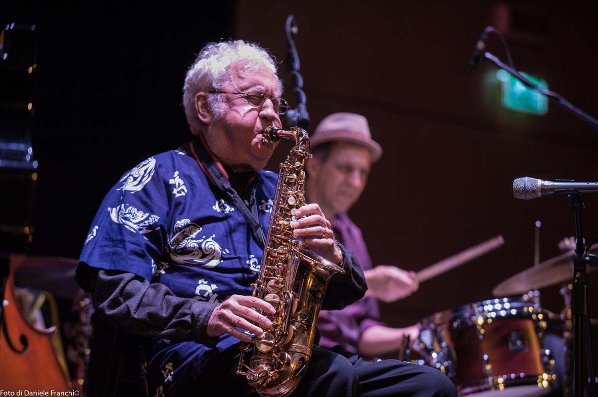 Bologna Jazz Festival 2017 Lee Konitz Quartet Unipol Auditorium Foto di Daniele Franchi