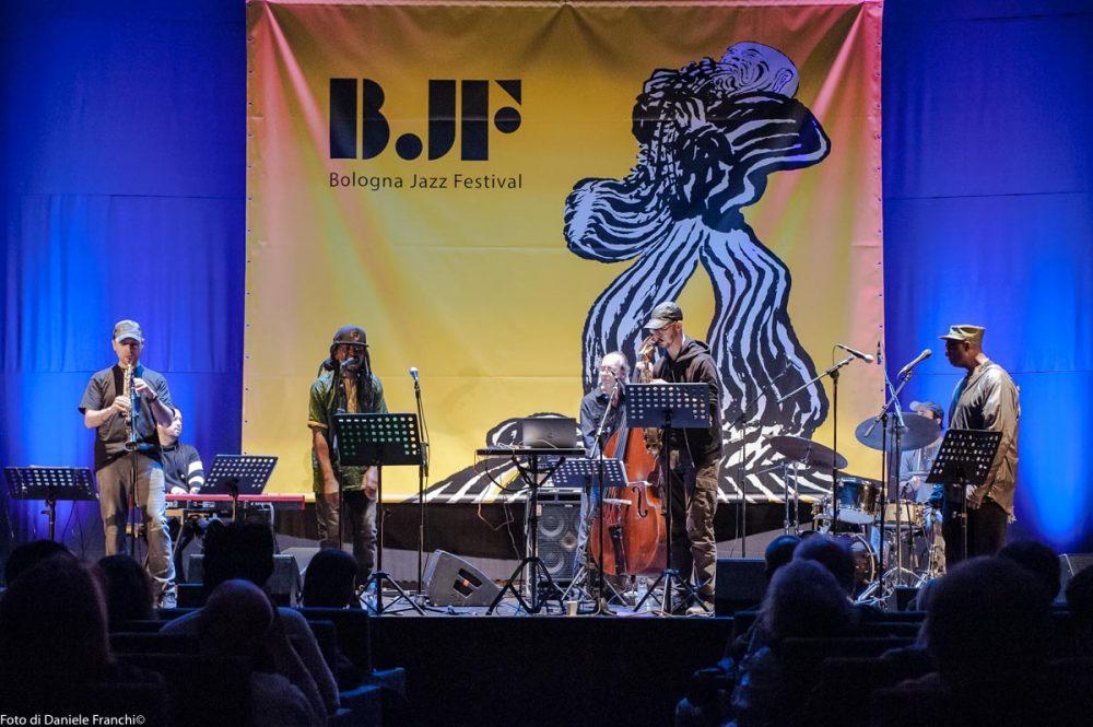 Bologna Jazz Festival 2017, Steve Lehman & Sélébéyone - foto di Daniele Franchi