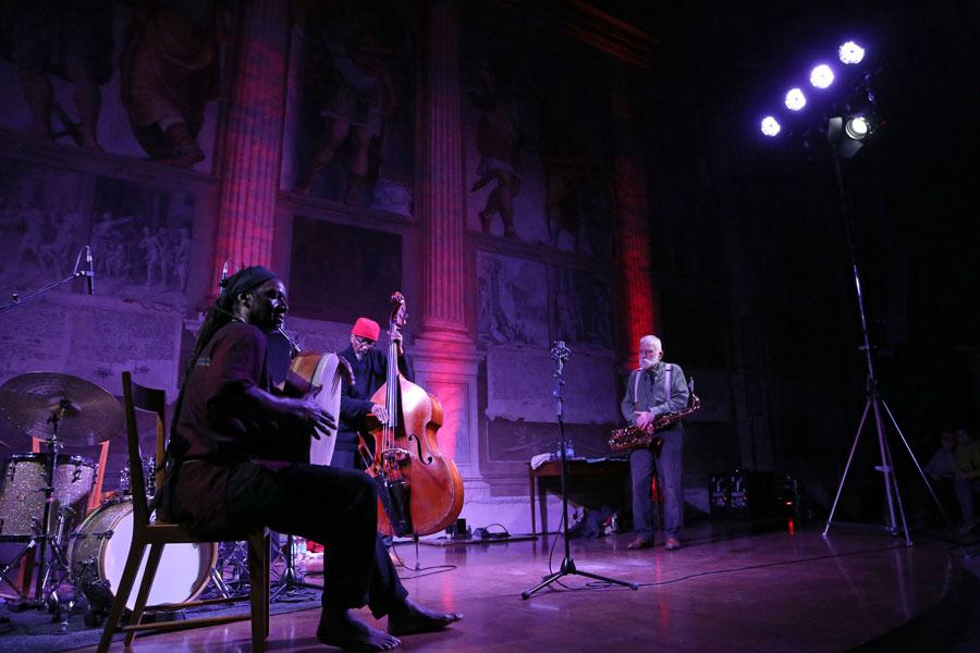 Drake - Parker - Brötzmann, Padova per Centrodarte18 - foto Luciano Rossetti/PHOCUS