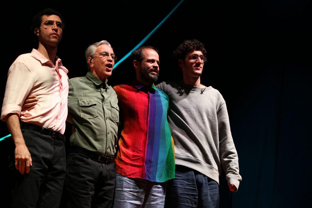 Caetano, Moreno, Tom e Zeca Veloso a Umbria Jazz 2018 by Elena Carminati 01