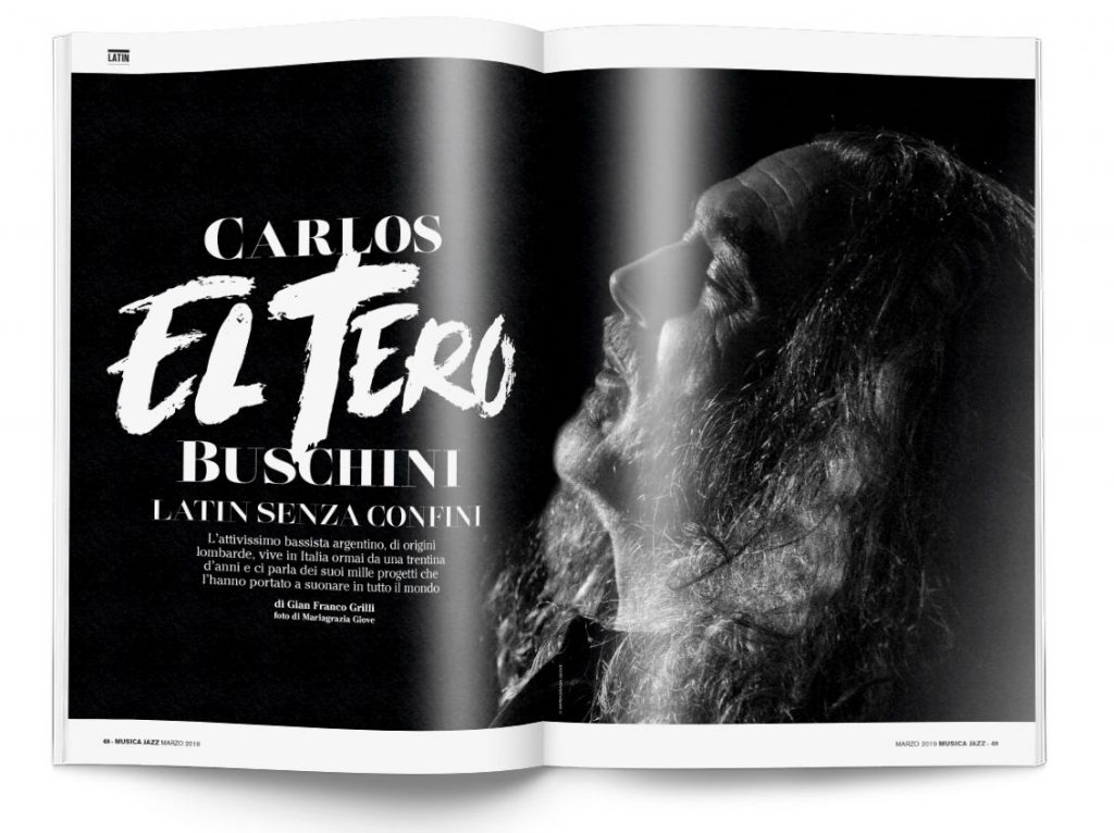 Carlos Buschini - Musica Jazz marzo 2019
