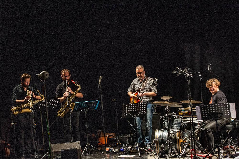 Cassero Jazz 2019: Dark Dry Tears (foto di Mario Sabbatani)