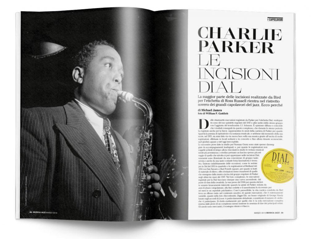 Charlie Parker - Musica Jazz marzo 2019