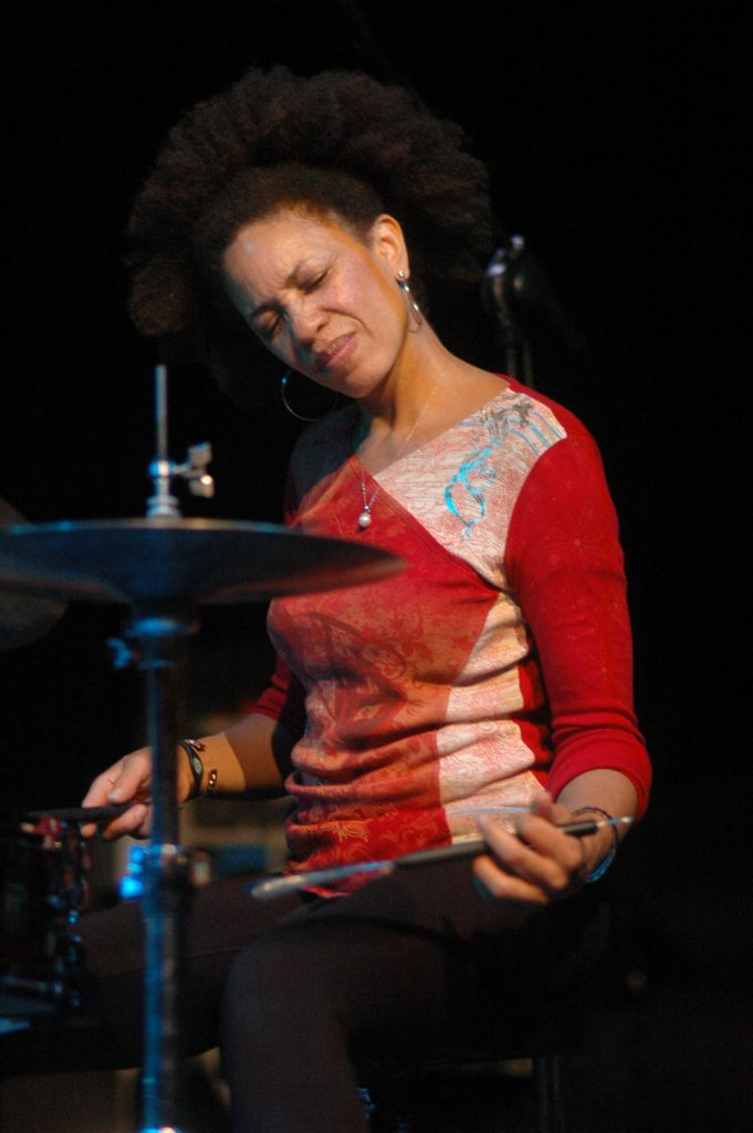 Cindy Blackman (foto di Agostino Mela)