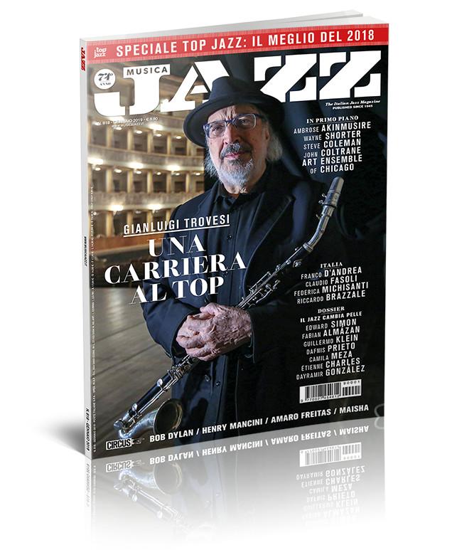 In edicola Musica Jazz gennaio 2019