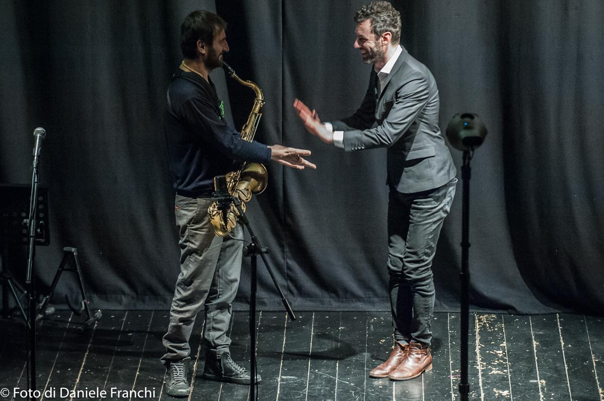 Cassero Jazz - Crossroads2018, Bearzatti e Casagrande - Foto di Daniele Franchi