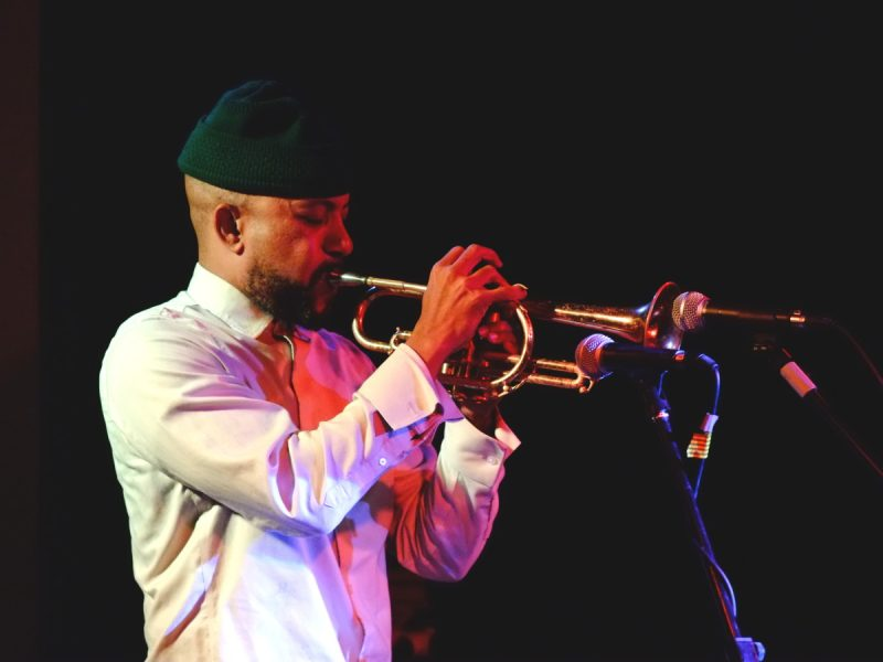 Ben Lamar Gay - Makaya McCraven Quartet, JazzMi 2017 - foto Francesco Spezia