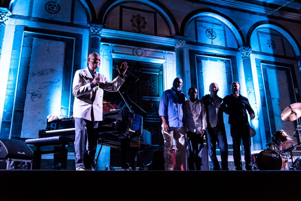 "McCoy Tyner ""Echoes with a friend"" a Empoli Jazz 2017 - foto Fabiana"