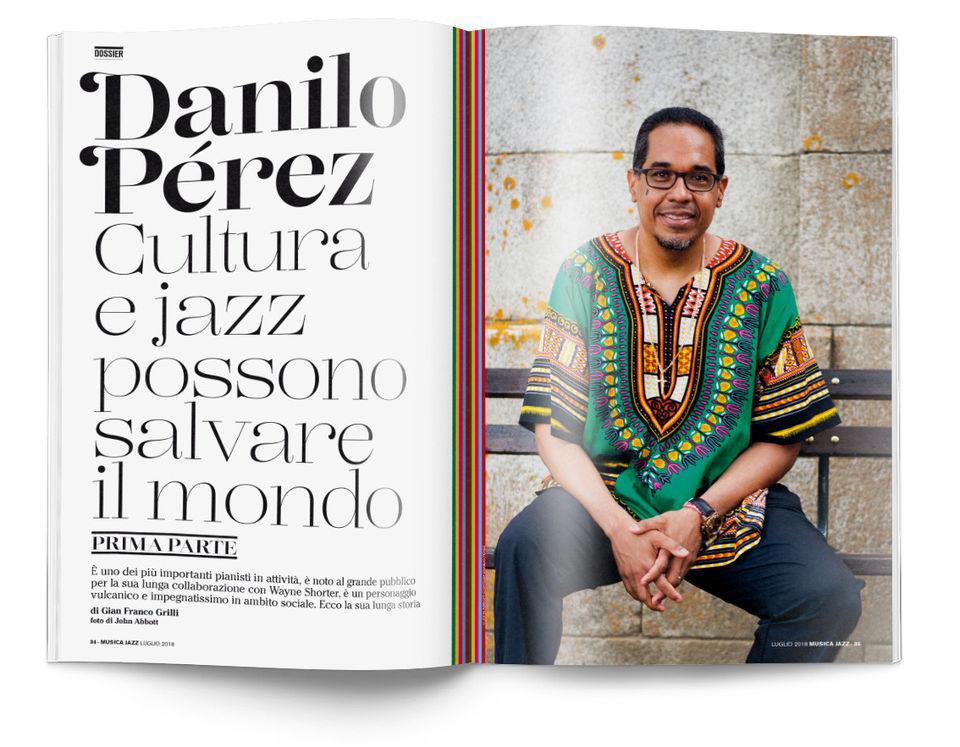 Danilo Pérez - Musica Jazz luglio 2018