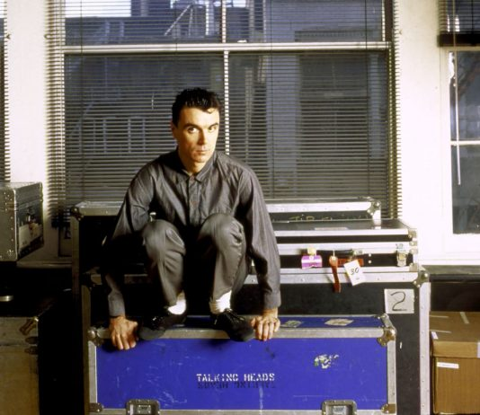 David Byrne (foto di Benno Friedman) - True Stories