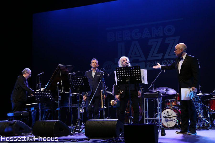 Uri Caine, Paolo fresu, Enrico rava e Dave Douglas - Creberg - Bergamo Jazz 2018