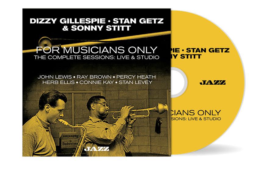Dizzy Gillespie Stan Getz Sonny Stitt