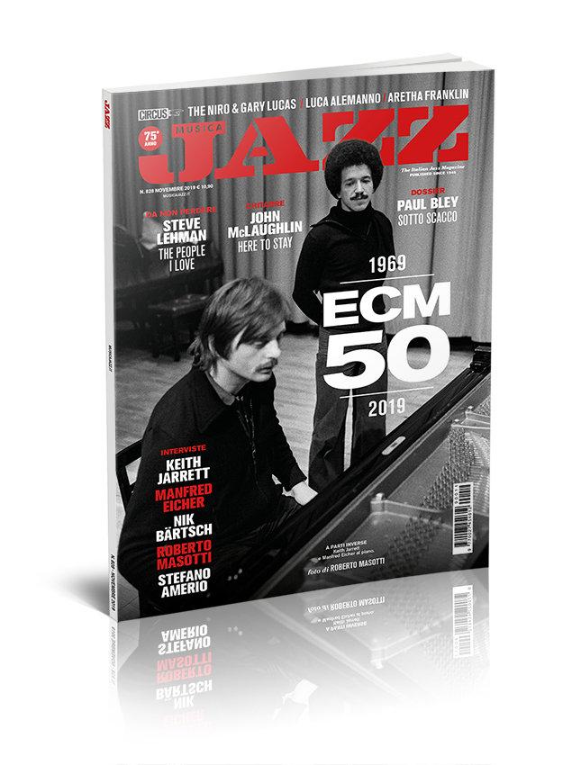 Musica Jazz di novembre 2019 - Cover ECM