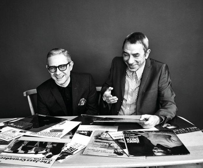 Martin Freeman e Eddie Piller (foto di Tobias Stahel)