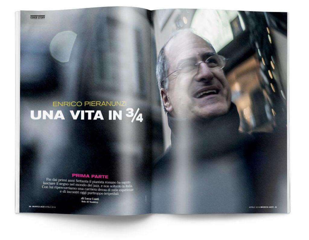 Enrico Pieranunzi - Musica Jazz aprile 2019