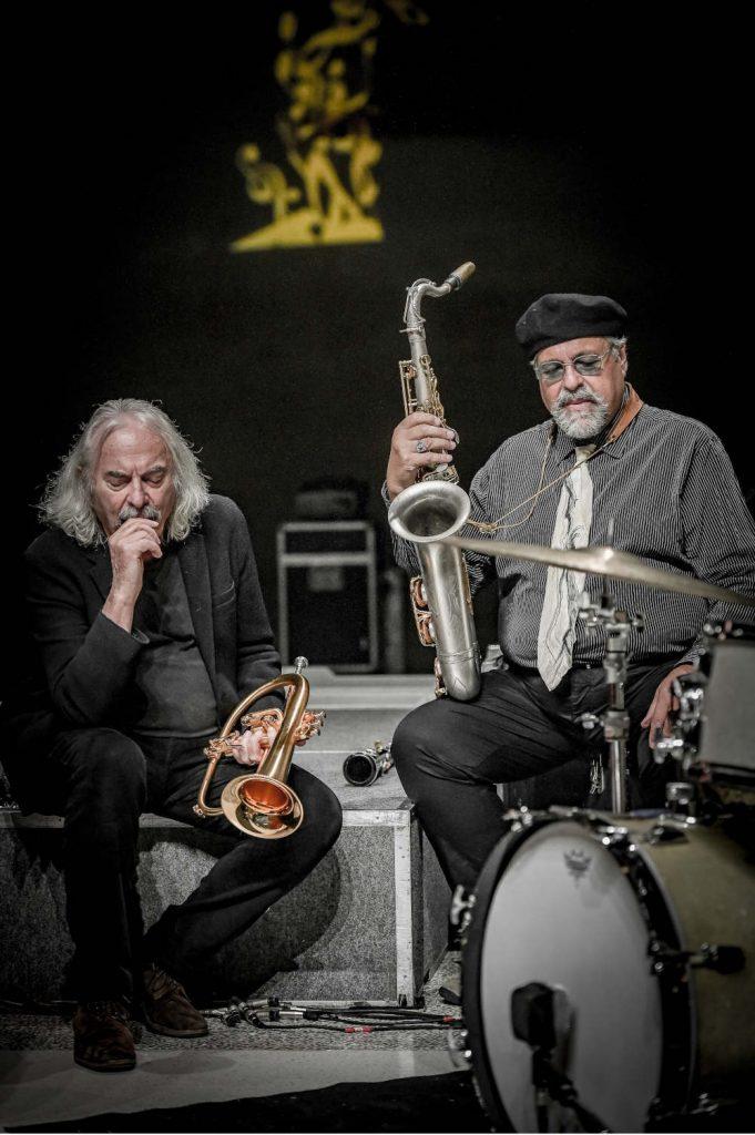 Enrico Rava e Joe Lovano (foto di Roberto Cifarelli / ECM Records) - Bergamo Jazz Festival 2020