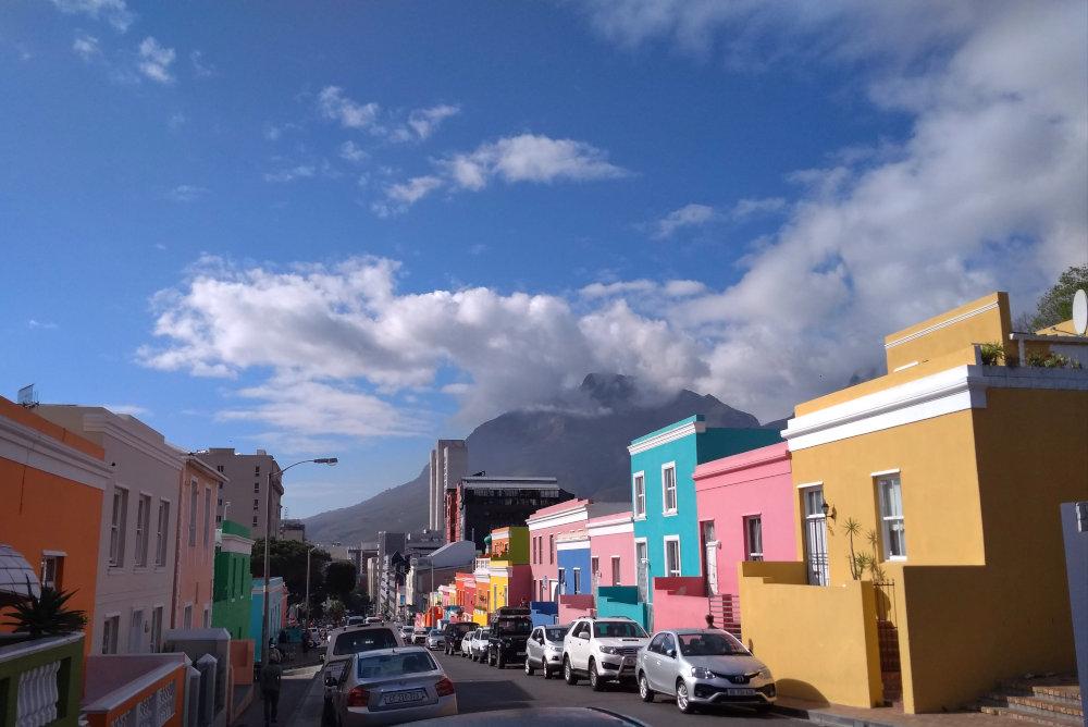 Il quartiere Bo-Kaap a Cape Town