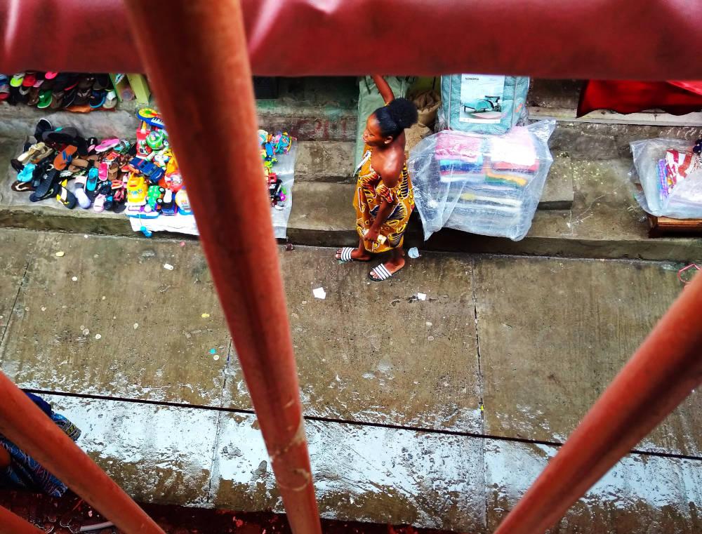 Libreville: il mercato (foto di Federica Michisanti)