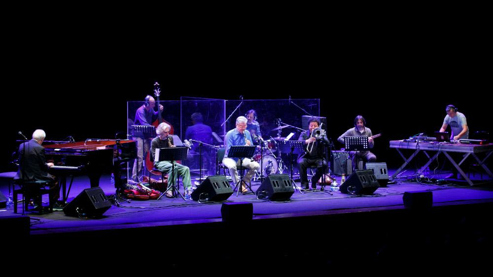Franco D'Andrea Octet in concerto (foto di Musacchio & Ianniello)