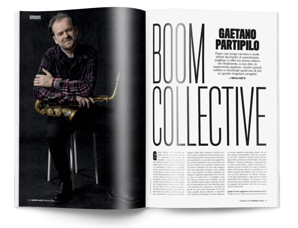 Gaetano Partipilo - Musica Jazz di febbraio 2020