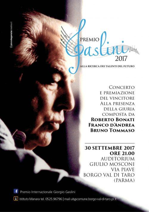 Premio Internazionale Gaslini 2017